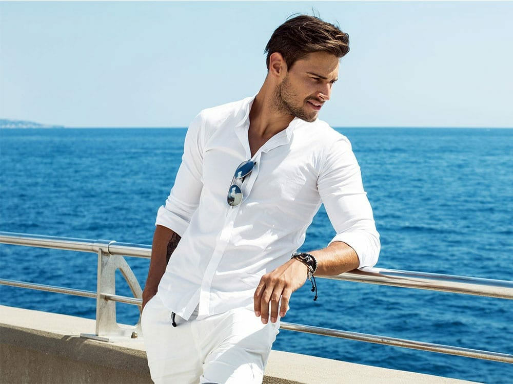 Sustainable luxury shirt made in Italy