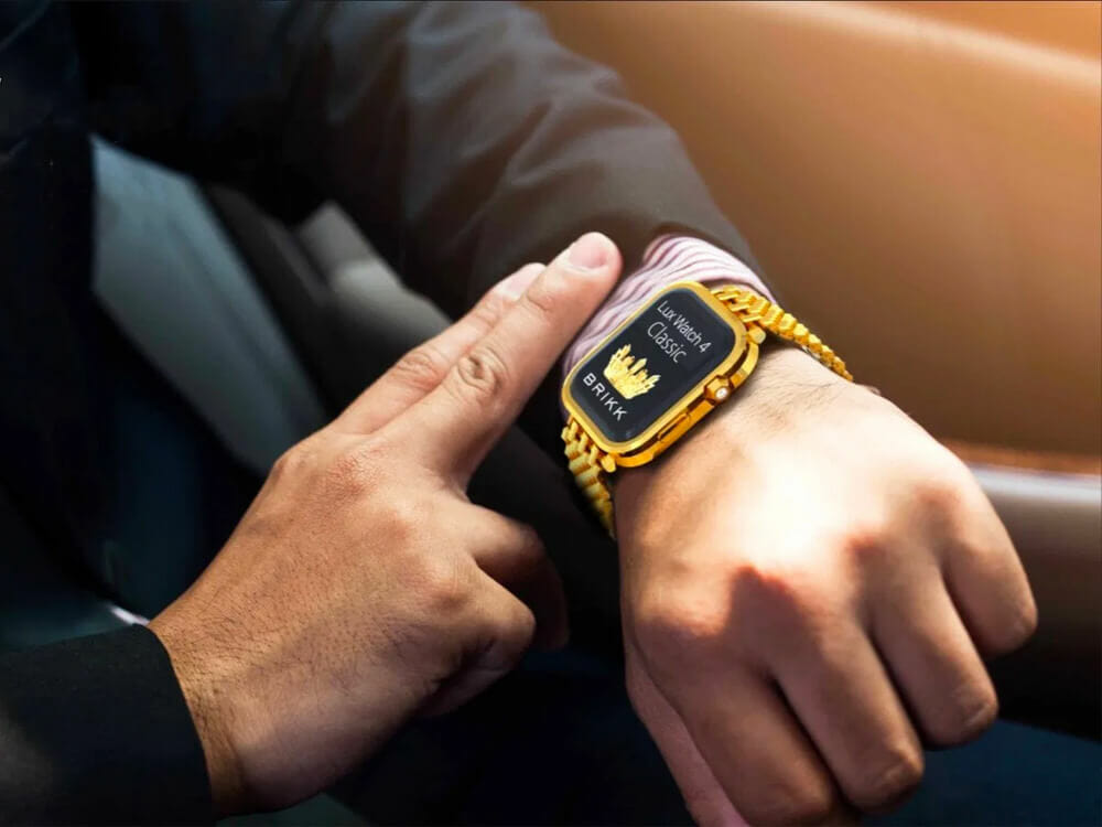 Custom-Made Luxury Apple Watch