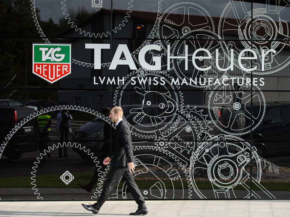 Tag Heuer smartwatch factory