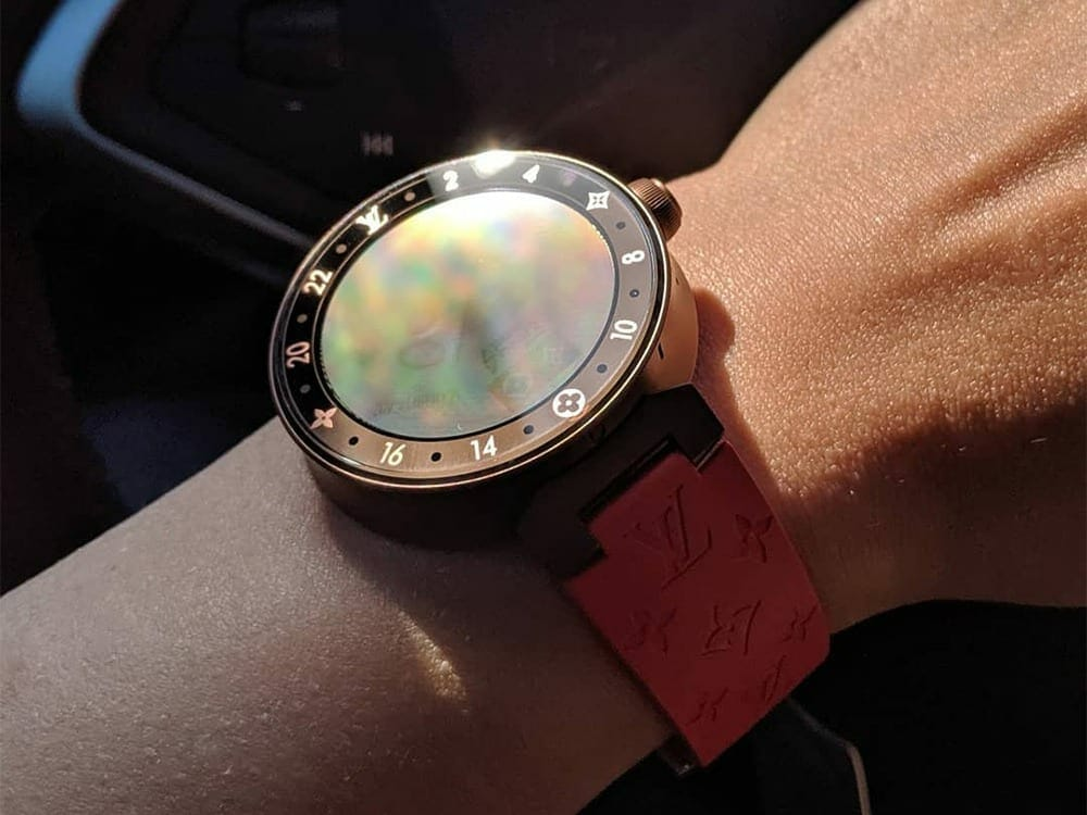 LV Tambour Horizon Monogram Eclipse Limited Edition Smartwatch