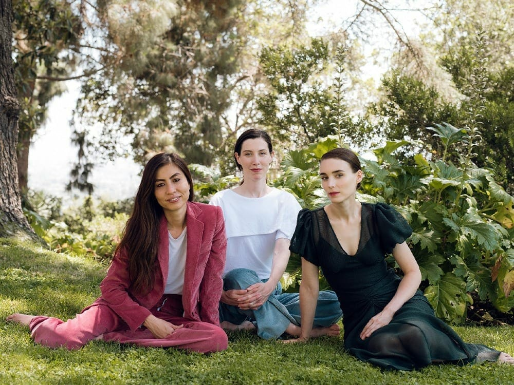 Rooney Mara vegan fashion label HIRAETH