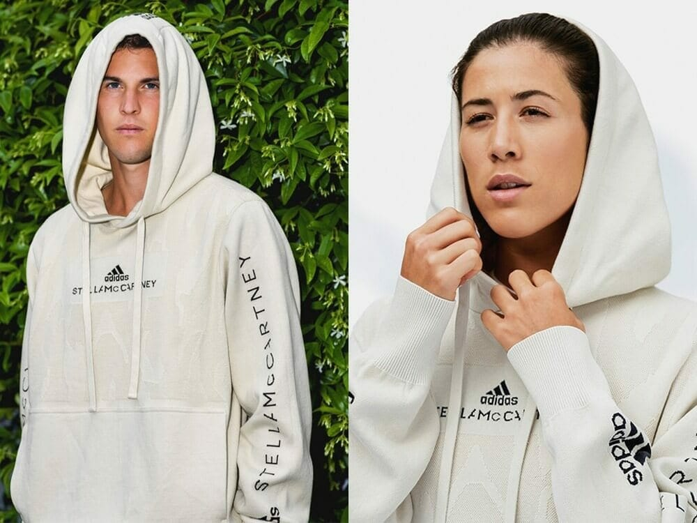 Adidas by Stella McCartney first 100% recyclable hoodie from NuCycl™ fibre