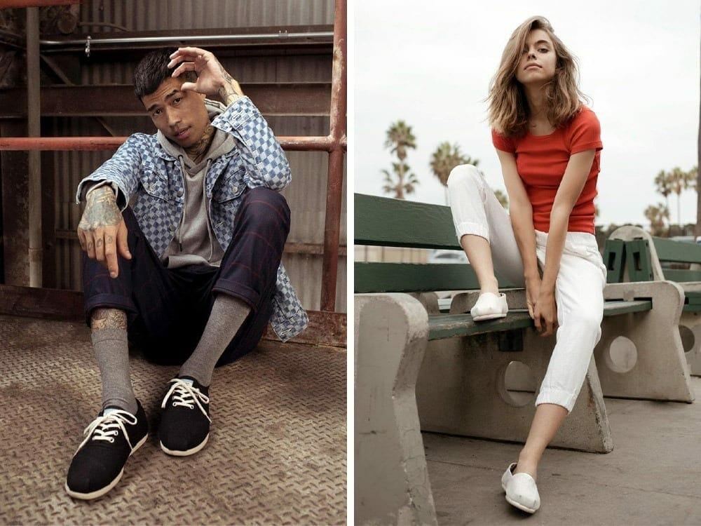 TOMS ethical fashion