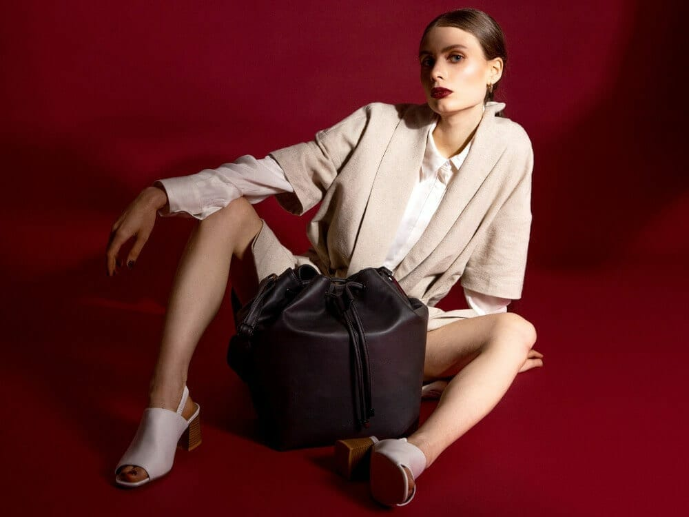 Conscious Luxury Fashion Vegan luxury bags by OSIER