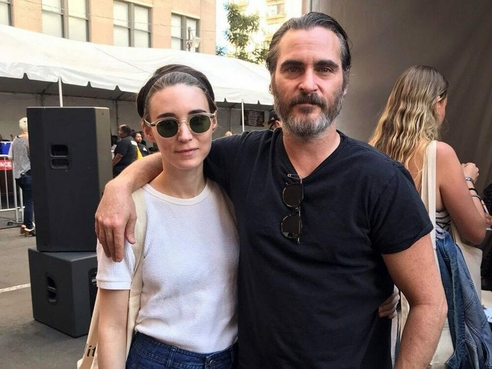 Rooney Mara and Joaquin Phoenix are engaged