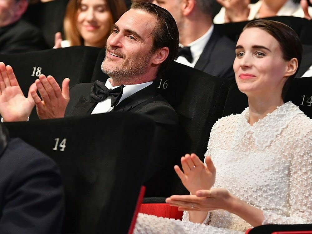 Rooney Mara and Joaquin Phoenix vegan wedding