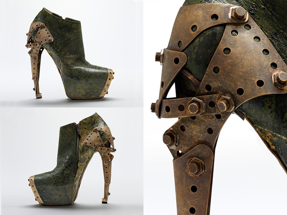 Alexander McQueen Fashion Plato Atlantis 2010 - the Titanic shoe