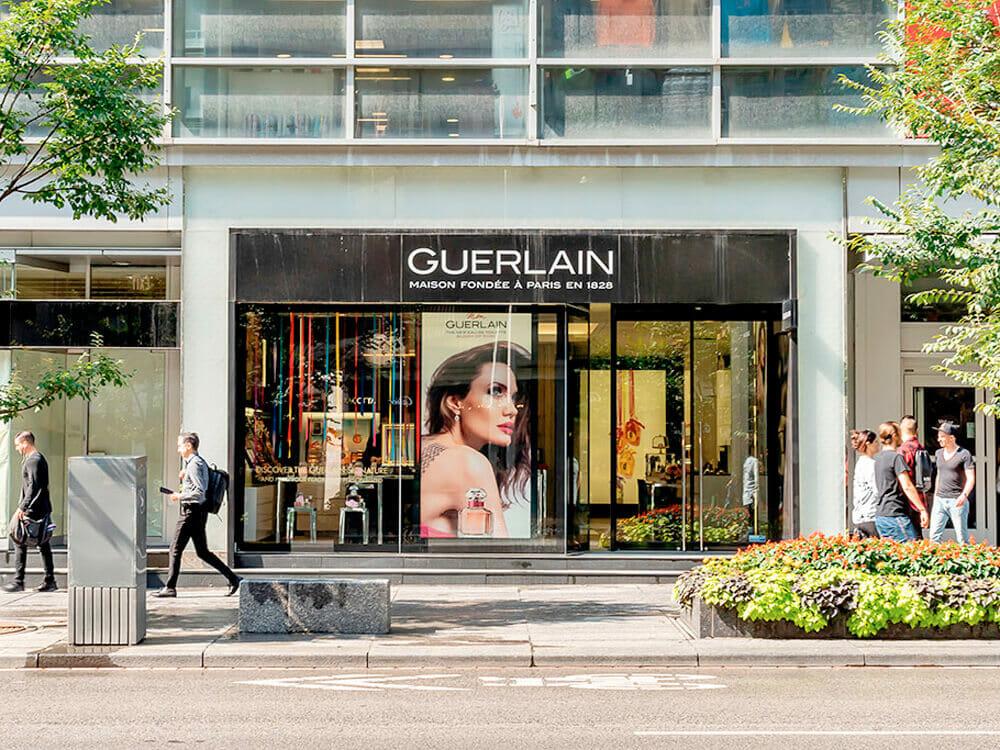 Guerlain shop front - Conscious Fashion Gains Traction Despite Long Road Ahead