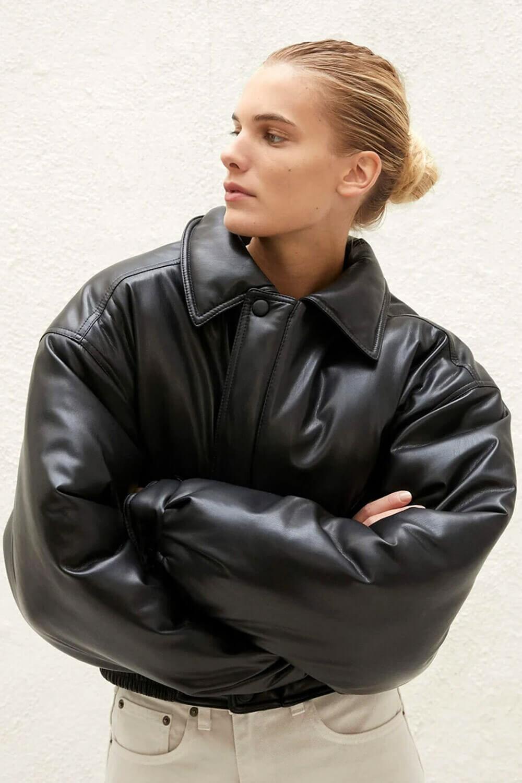 Nanushka Vegan leather jacket