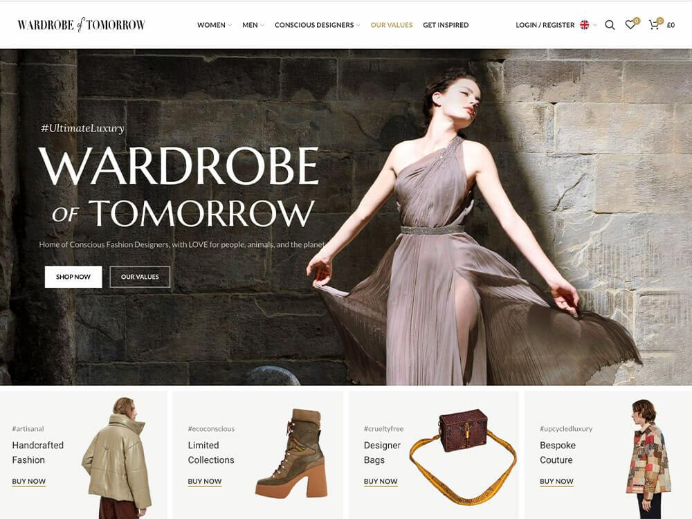 Wardrobe of Tomorrow Ethical Clothing Store