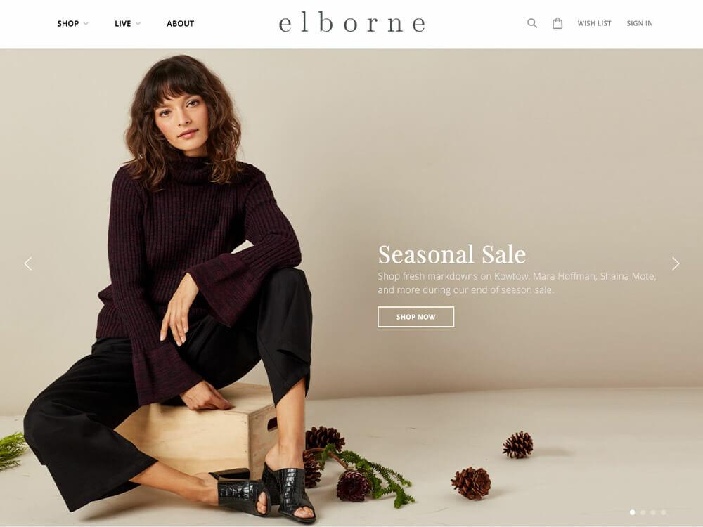 Elborne - Sustainable Clothing Store
