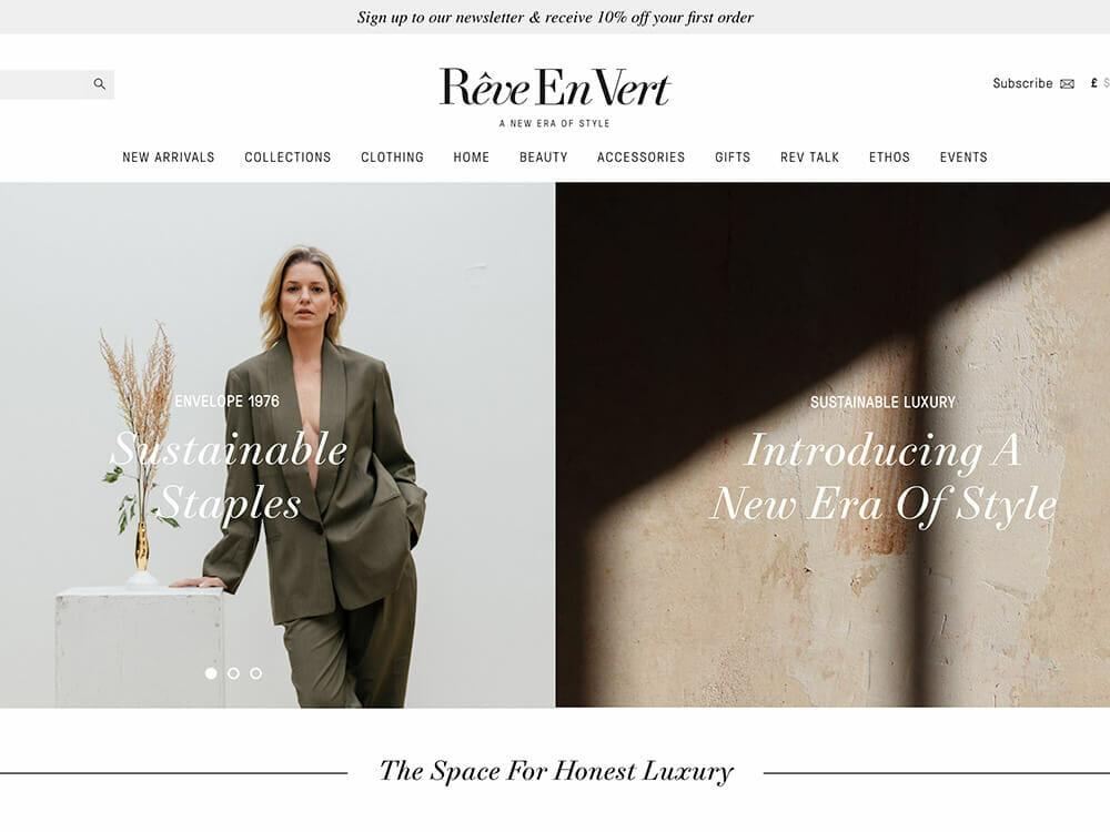 Reve en Vert - Ethical Clothing Shop
