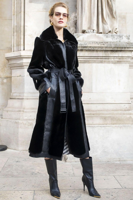 Stella McCartney Organic Koba fur coat