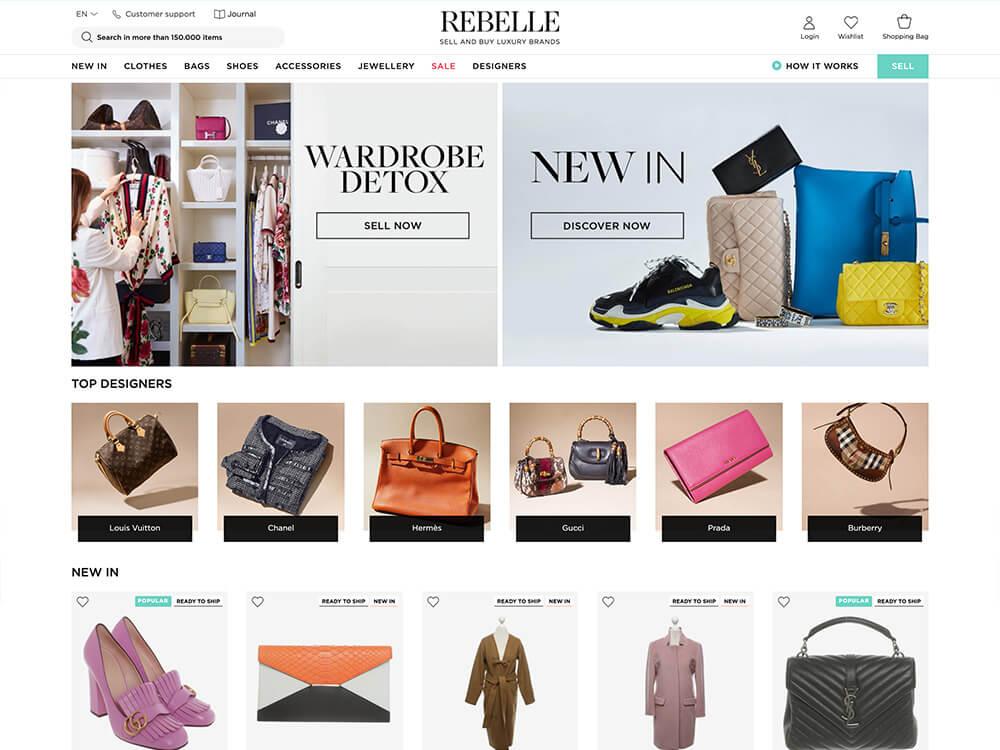 Rebelle online vintage clothing store