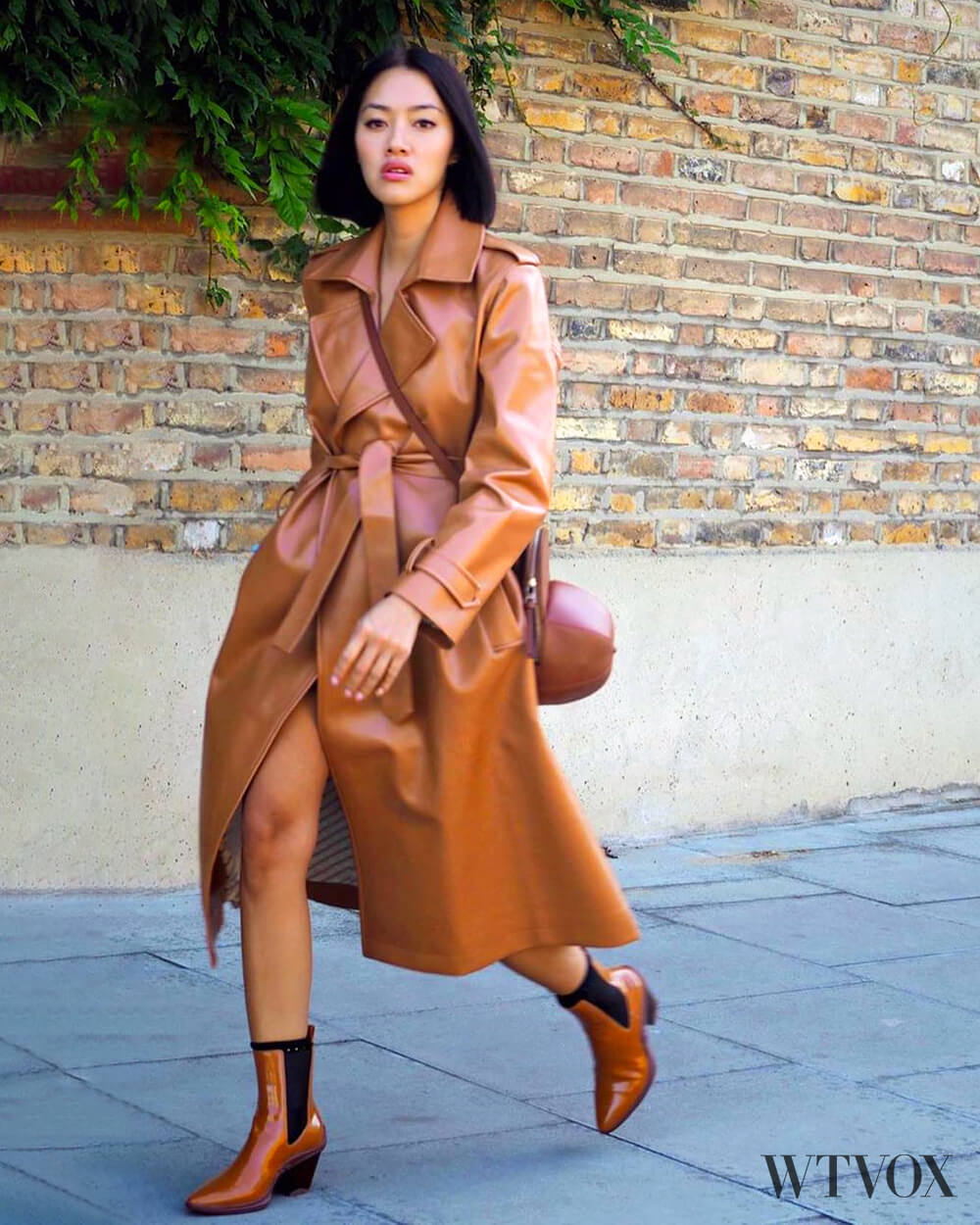 Each X Other Vegan Leather Trench