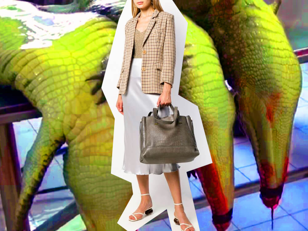 what is vegan leather crocodile - wtvox