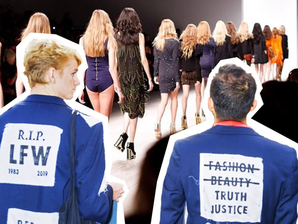 Boycotting London fashion week