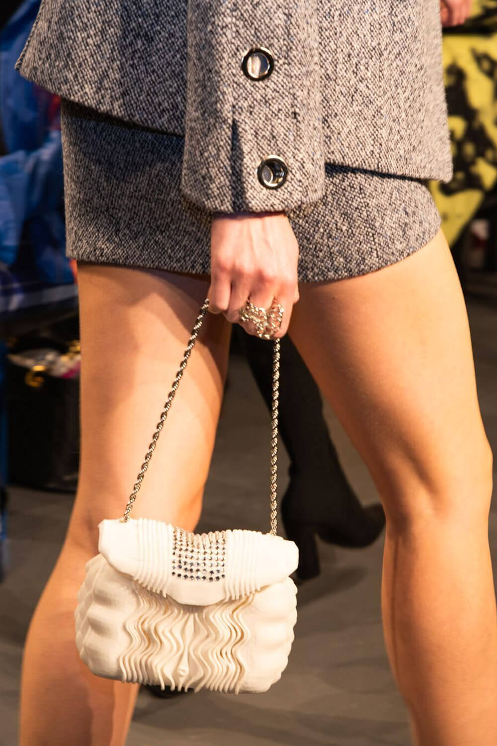 Julia Daviy 3D Printed Sustainable Luxury Bag Collection
