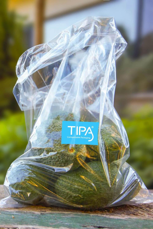 Tipa biodegradable single use bags