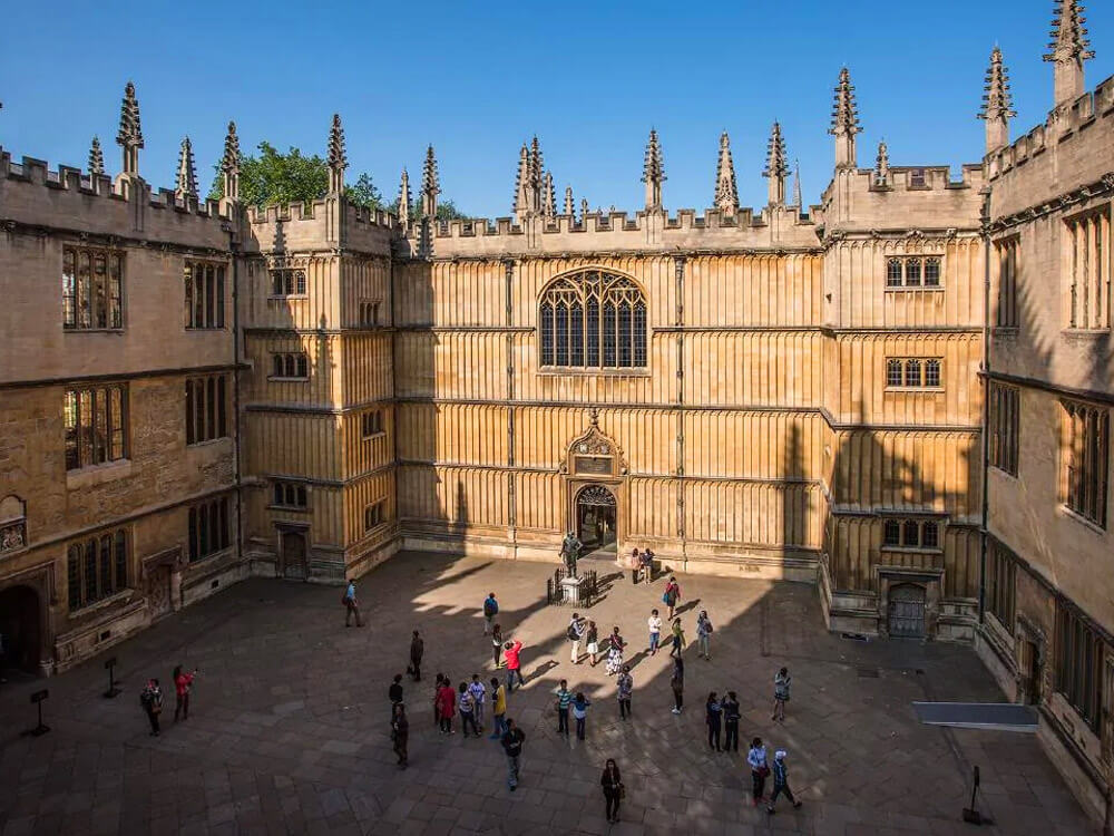 Bodleian Library at University of Oxford