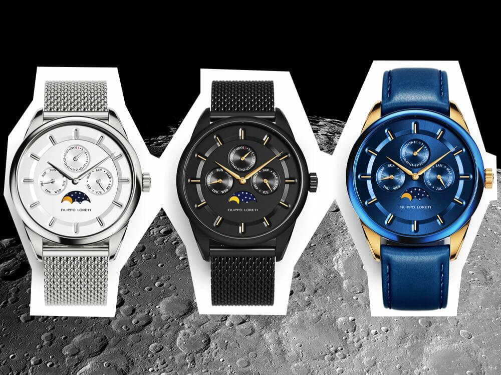 Filippo Loreti Moonphase luxury watch