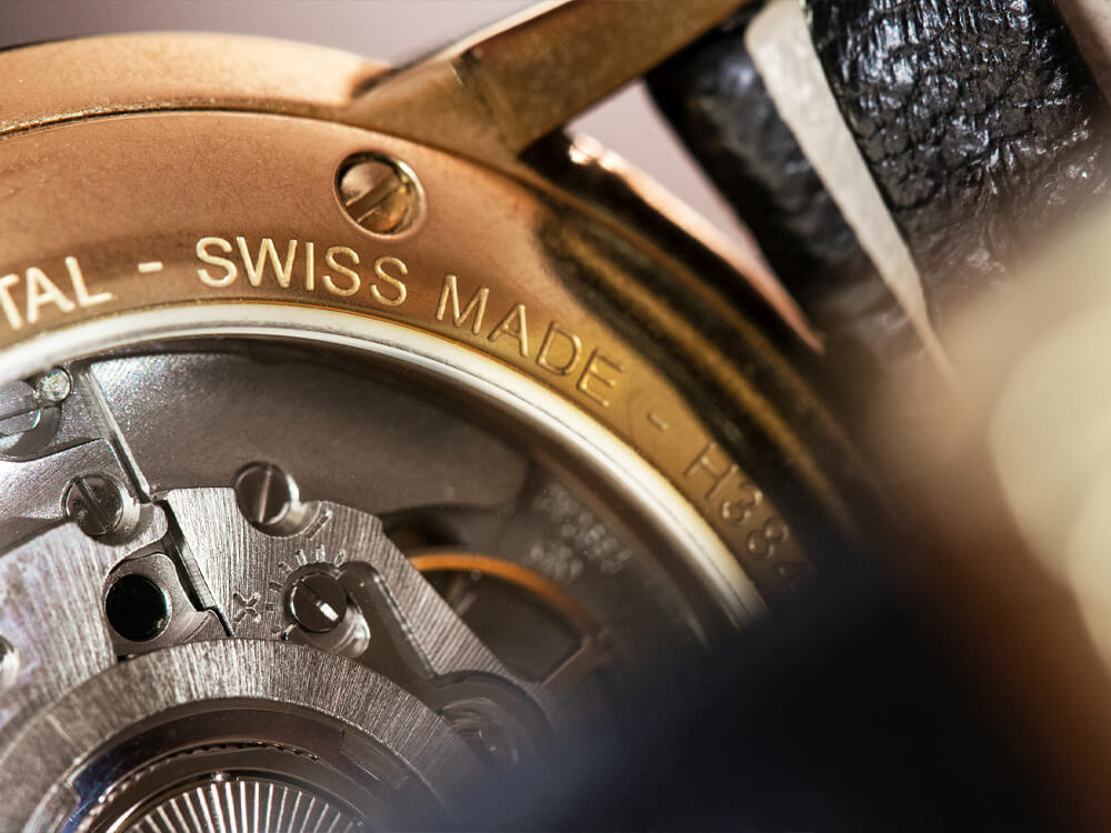 Swiss made luxury watch