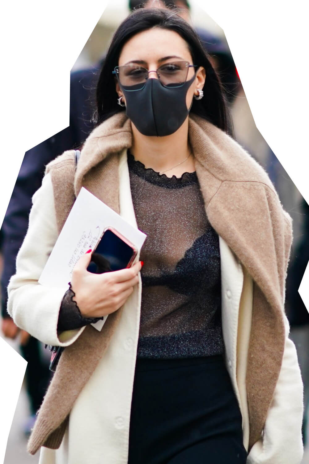Designer fashion face masks