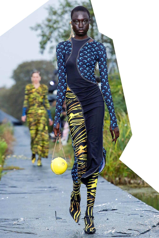 Upcycled Marine Serre fashion