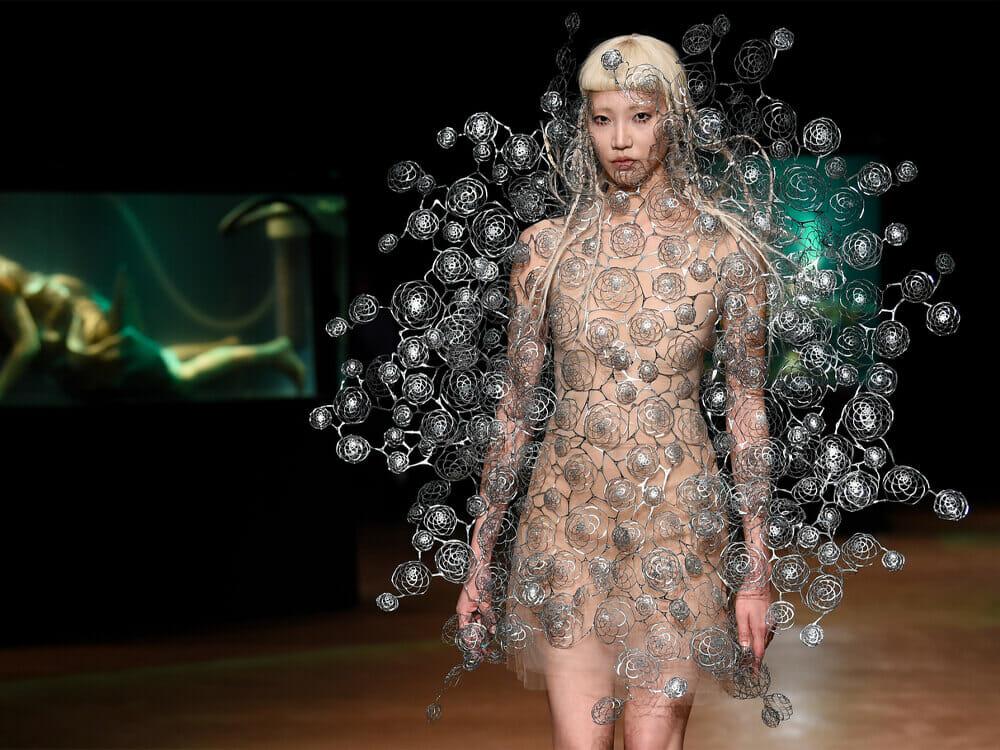 Iris Van Herpen fashion show