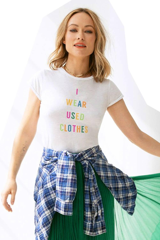 Olivia Wilde Embracing Sustainable Fashion