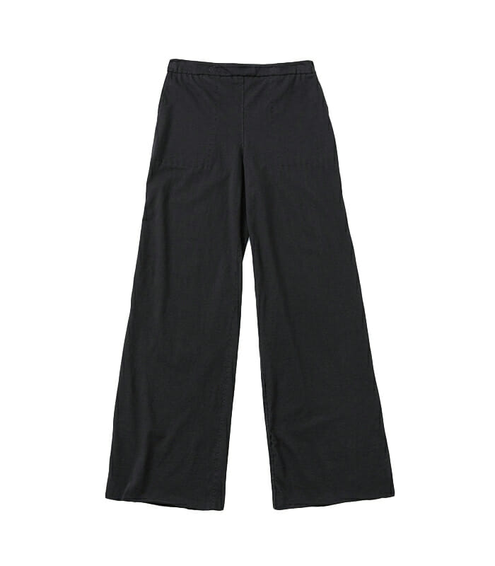 Alabama Chanin tailored black trousers