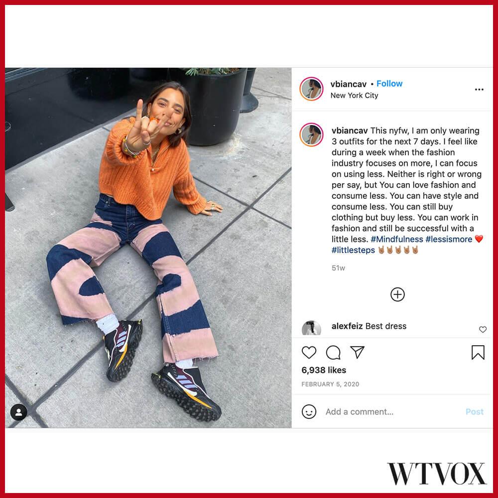 Bianca Valle fashion influencer