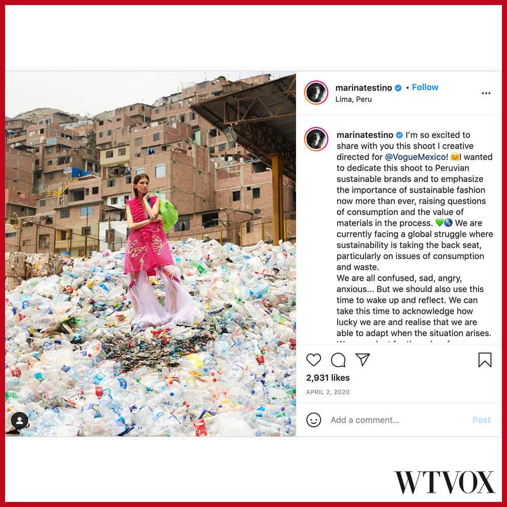 Marina Testino fashion influencer