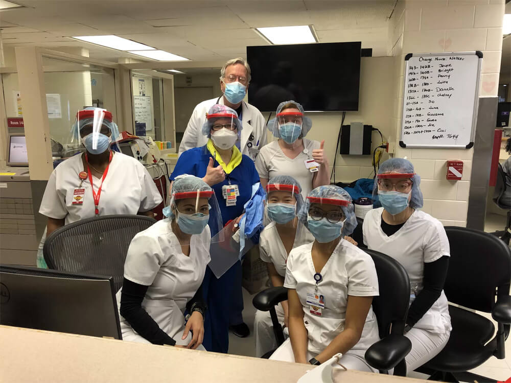 3d printed face shields to hep with PPE shortage