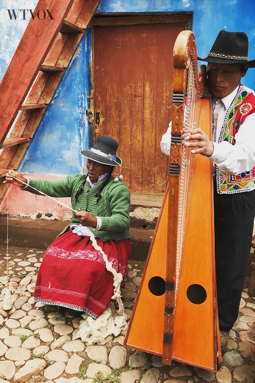 Latin American local artisans