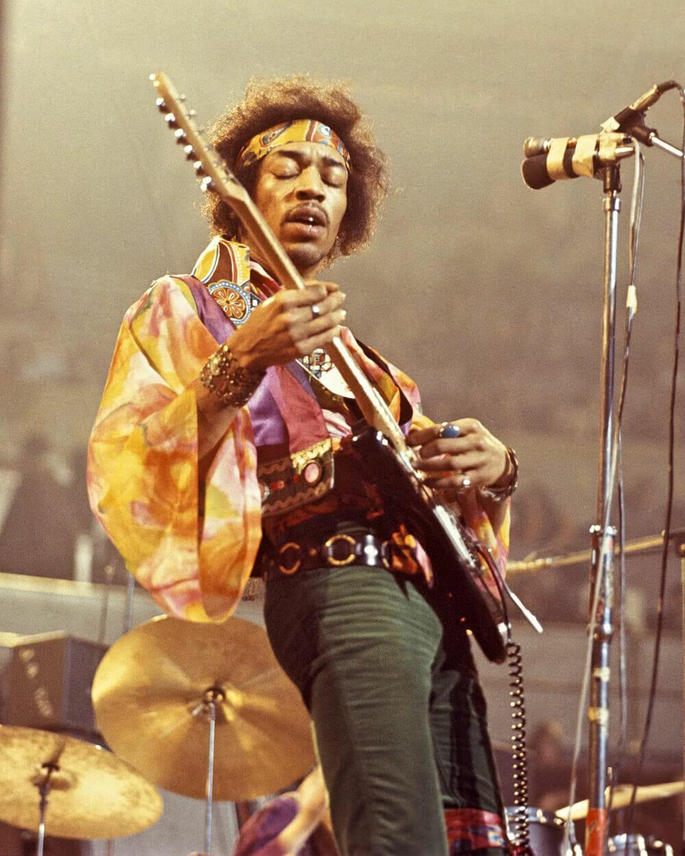 1970s Jimi Hendrix fashion
