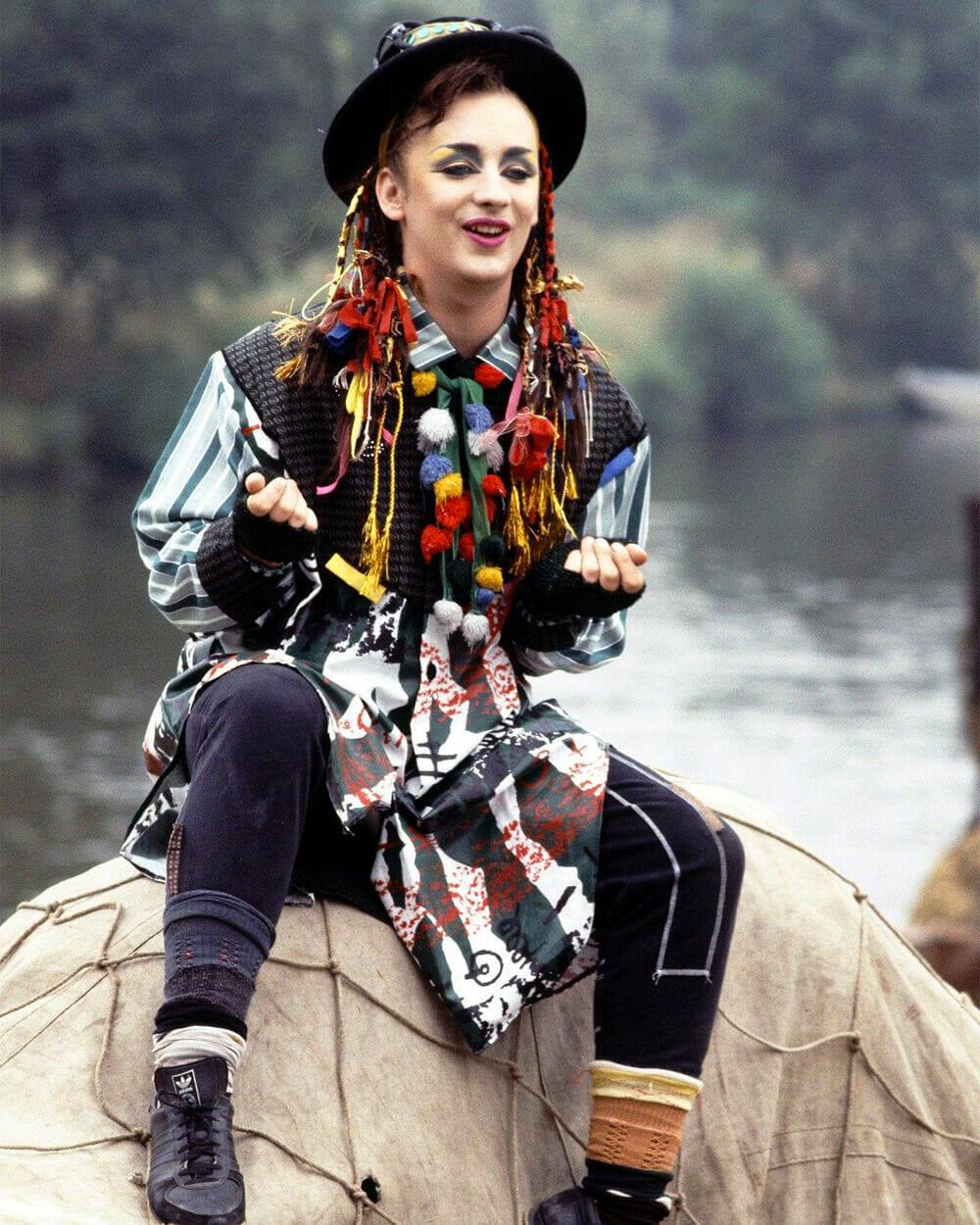 Boy George Androgynous Fashion