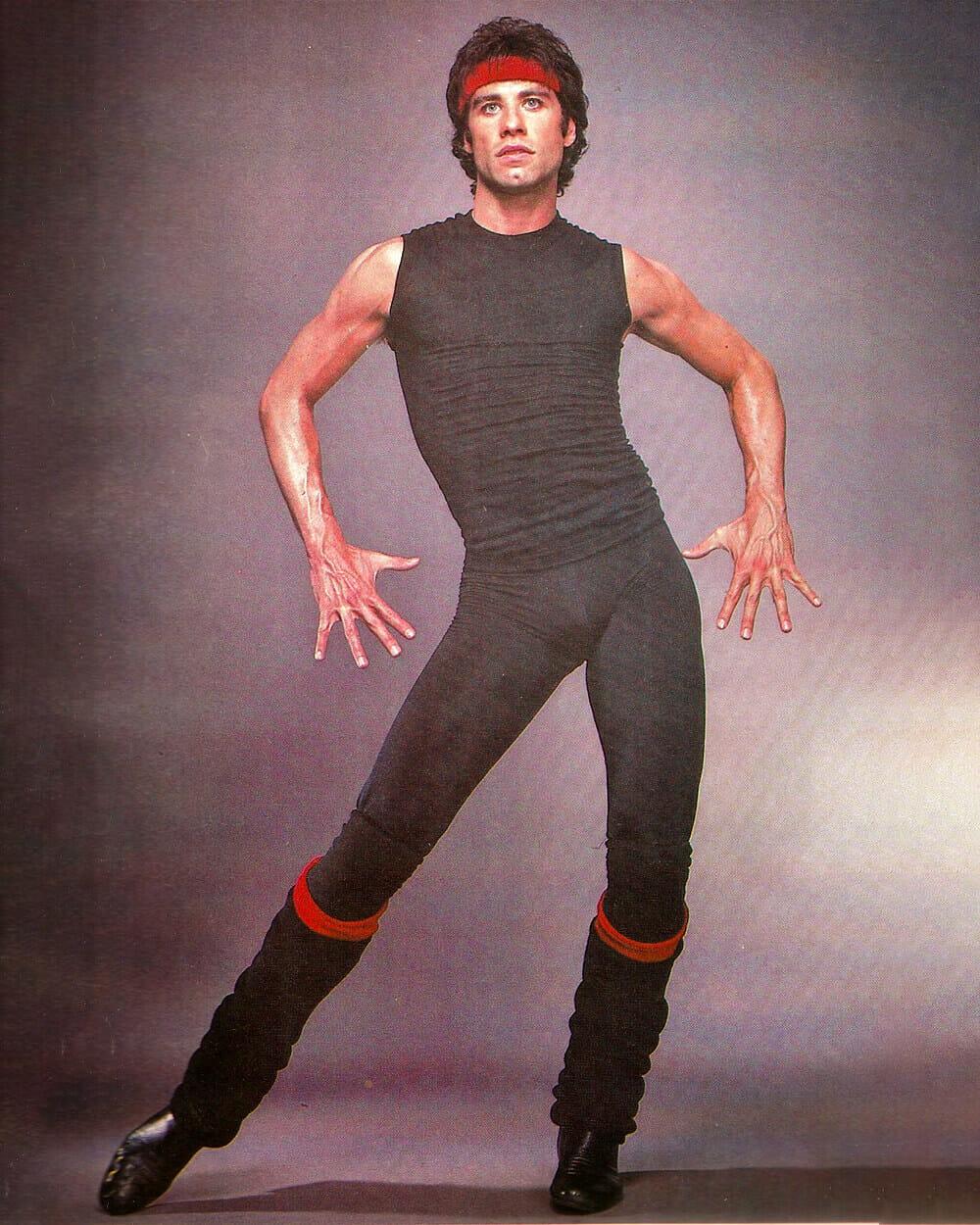 John Travolta Androgynous Fashion