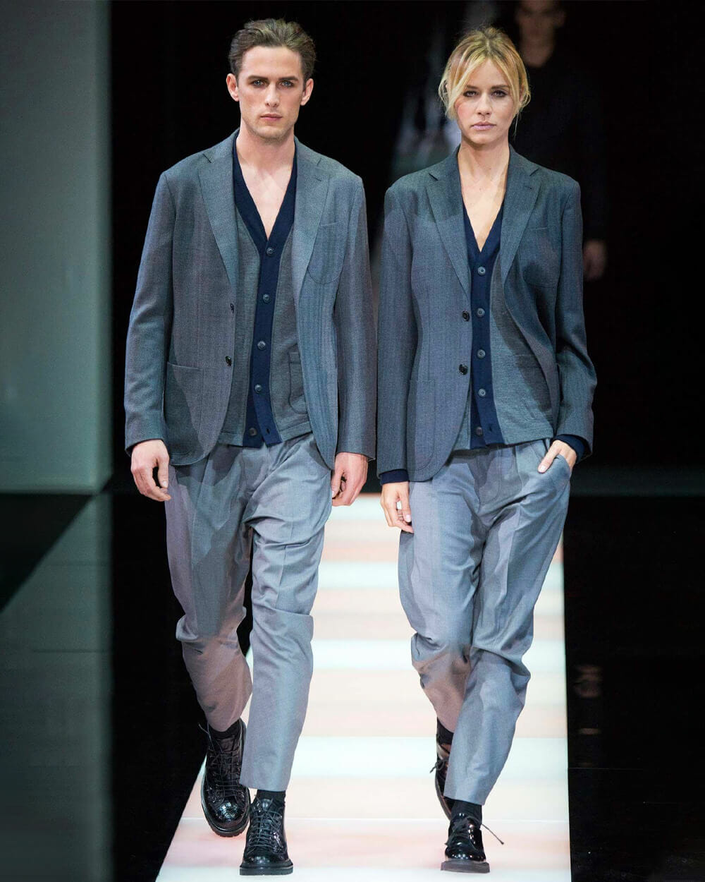 Giorgio Armani Androgynous Fashion