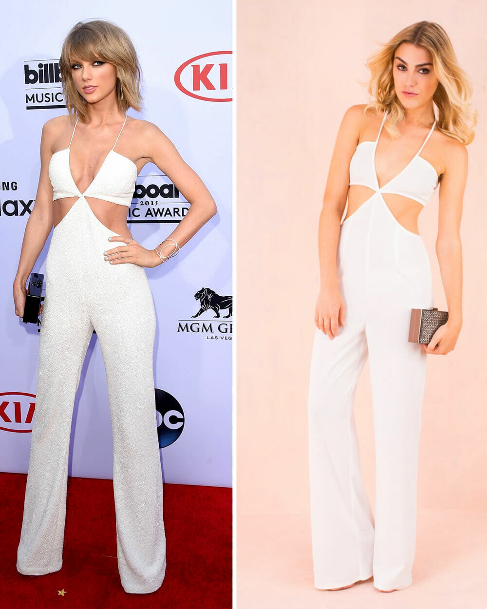 Fast fashion brand Missguided copies Taylor Swift outfits