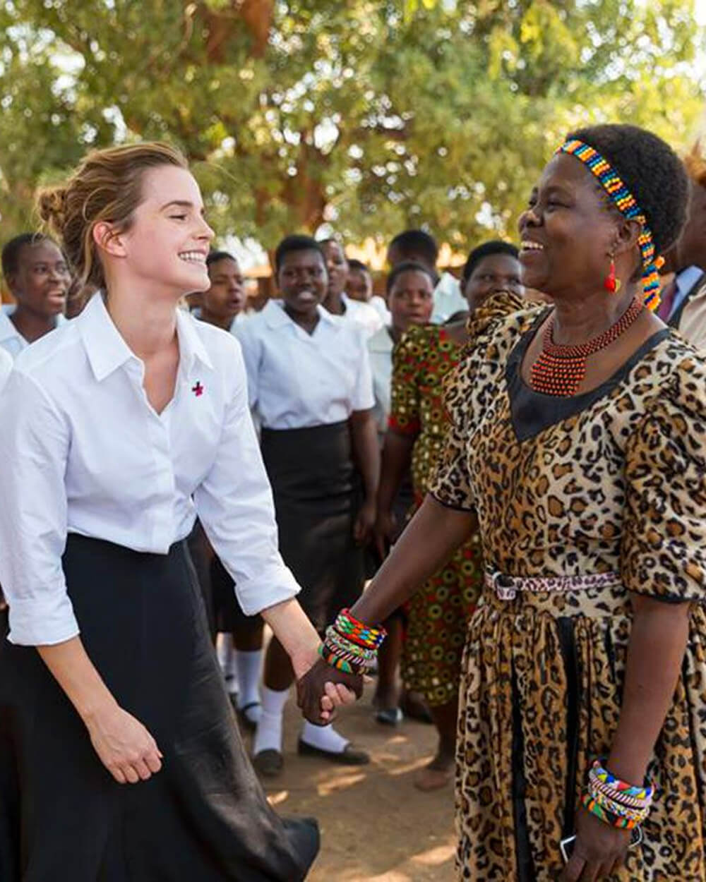 Emma Watson 'White Shirt Project' - 2014
