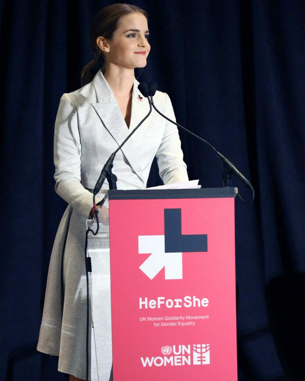 Emma Watson 'HeForShe' Campaign - 2014