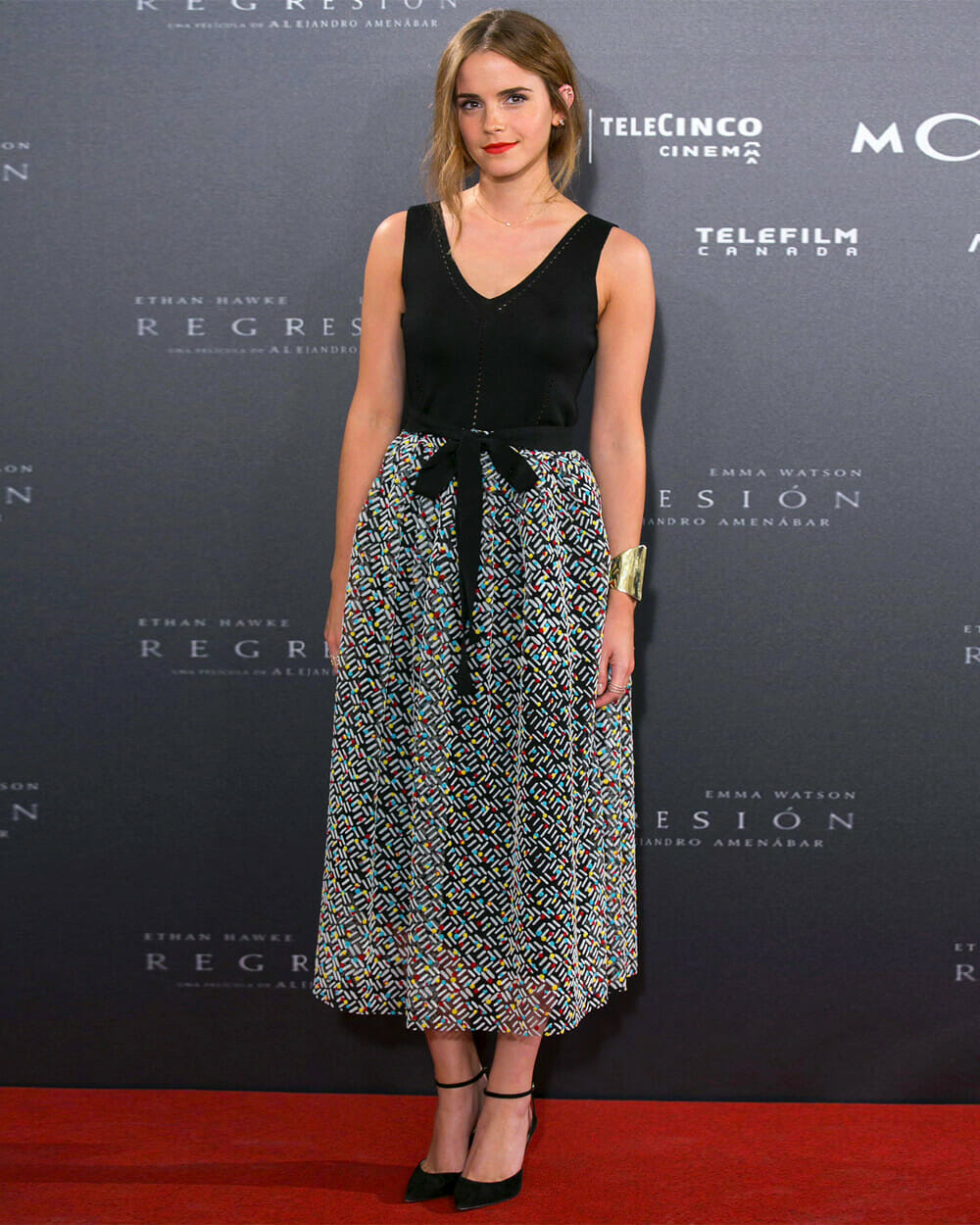 Emma Watson Green Carpet Challenge - 2015