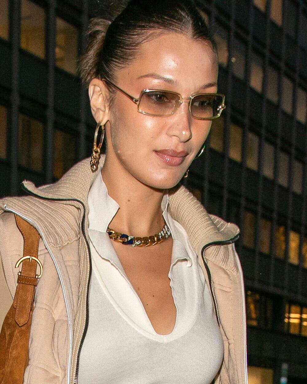 Bella Hadid eyewear style 2020
