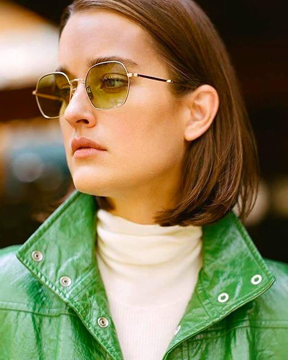Minimalist eyewear style