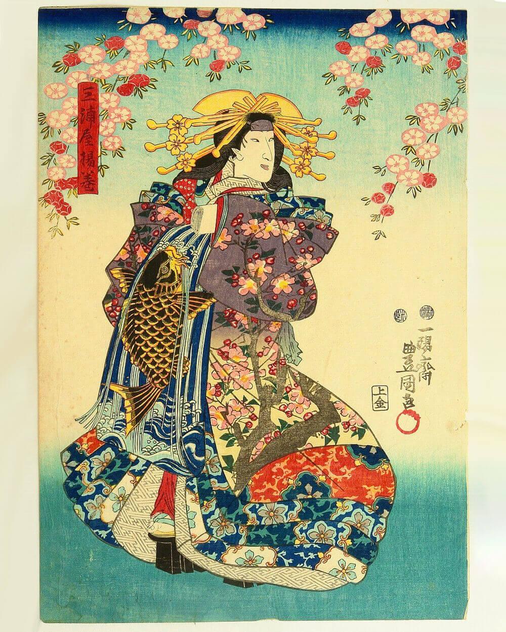Japanese 1850s art