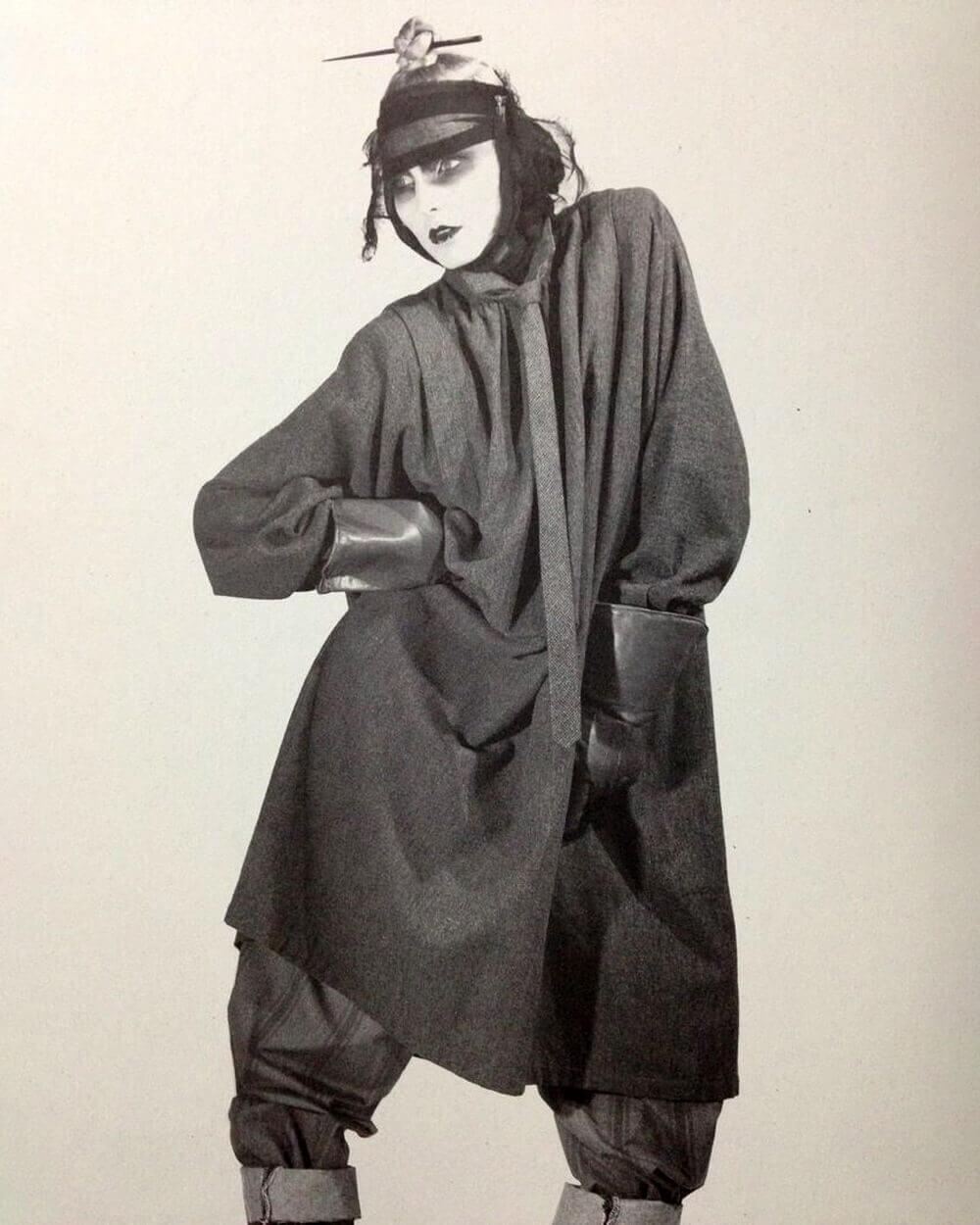 Rei kawakubo/Comme des Garcons S/S 1982