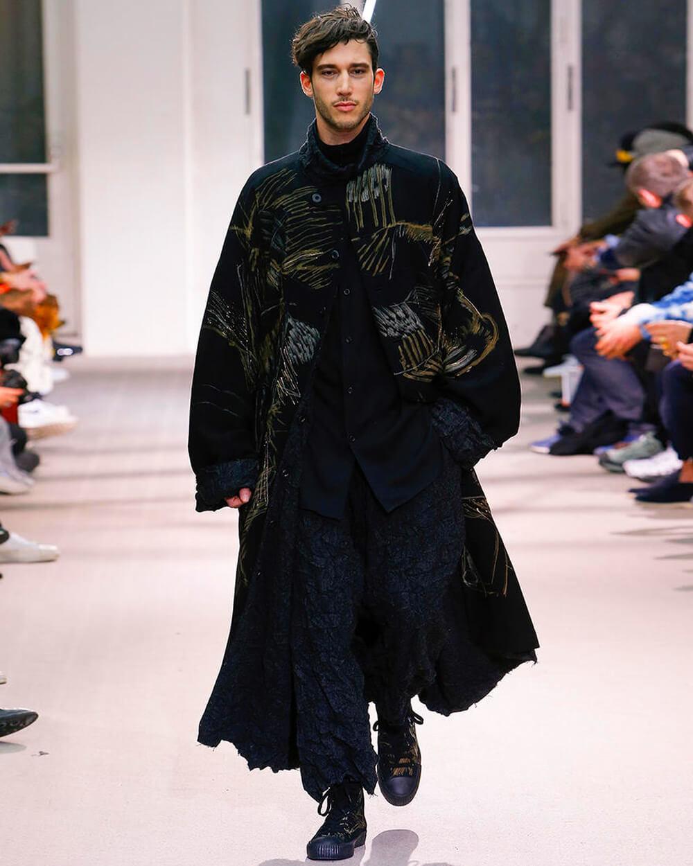 Yohji Yamamoto avant-grande