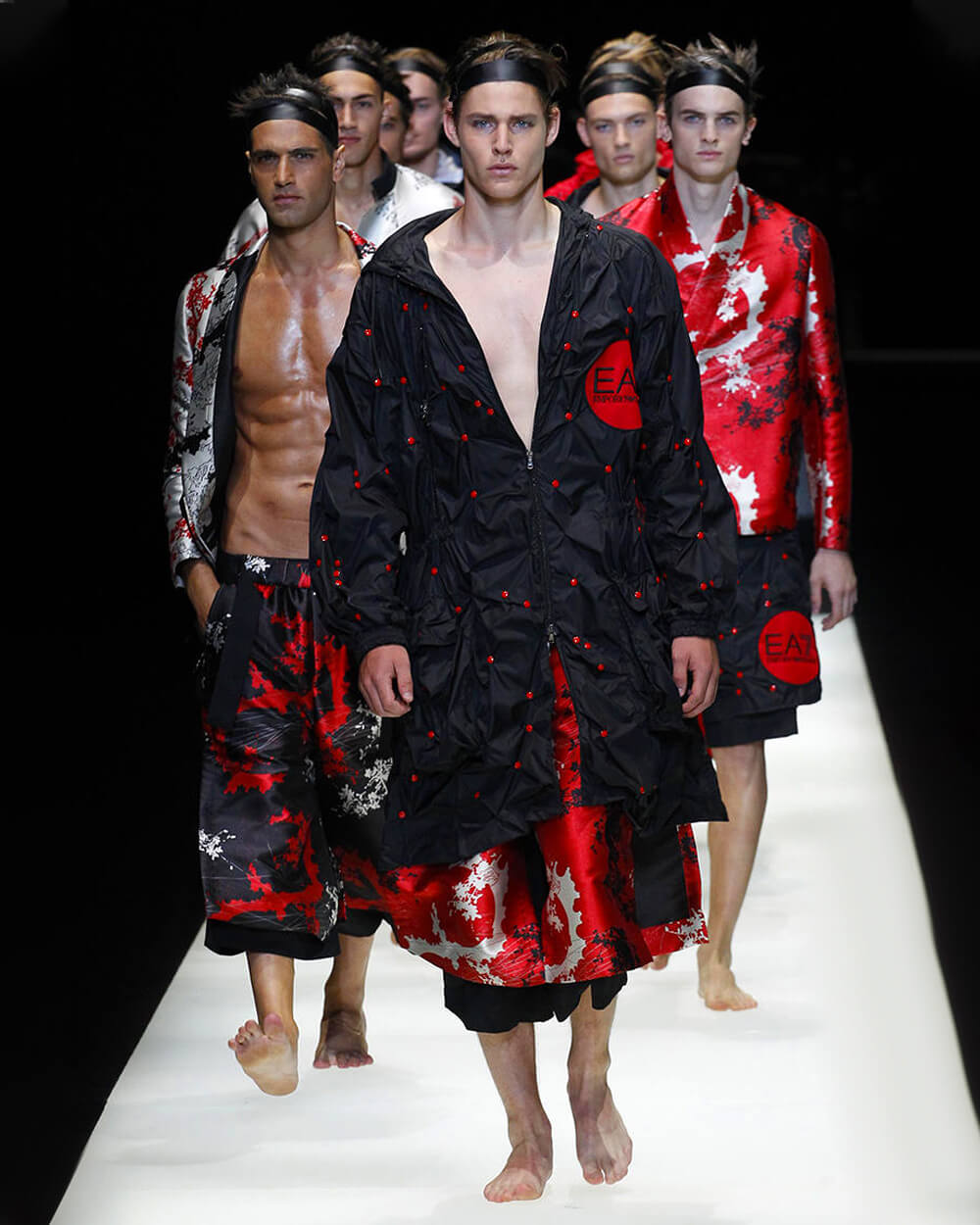 Emporio Armani SS18 Collection inspired by Japanese fashion