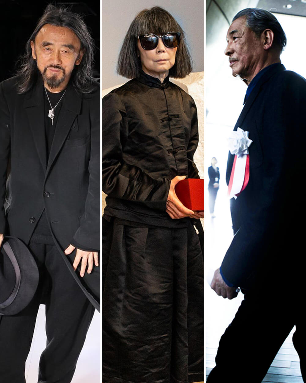 Yohji Yamamoto, Rei Kawakubo, and Issei Miyake
